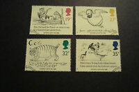 GB 1988 Commemorative Stamps~Edward Lear~Very Fine Used Set~(ex fdc)UK Seller