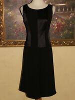 Giorgio Armani Womens Black Label Silk Sleeveless Black Dress Size 40 / US 4 / 6
