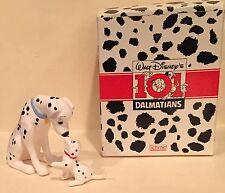 101 Dalmatians Schmid Disney Figurine Set Mother Perdita & Puppy MIB