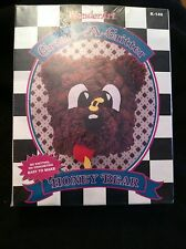 Wonder Art Create A Critter K149 Honey Bear Hook Rug Kit Caron International NIB