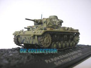 1:72 Carro/Panzer/Tanks/Military III AUSF.G. SD. KFZ.141 Lybia 1941 (24)