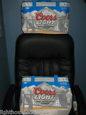 COORS LIGHT BEER COLLAPSIBLE COOLER VOLLEYBALL BAGS INSULATED SUMMER Set Of 2 !