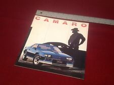 BRAND NEW 1982 Camaro Dealer Catalog Collectible EXCELLENT COND.