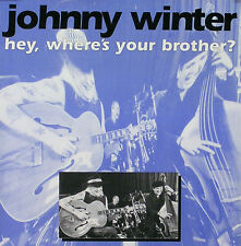 JOHNNY WINTER 1992 WHERE'S YOUR BROTHER TOUR POSTER ORIGINAL