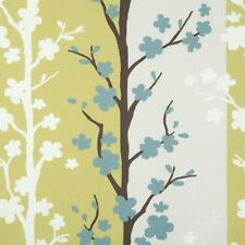 Clarke and Clarke Blomma Wasabi Floral Design Curtain Upholstery Craft Fabric