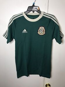 Adidas Tricolor Mexico Size Icon Tee Stripes Soccer size XS