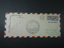 1931 VIA AIR MAIL FIRST FLIGHT TWIN CITIES WINNIPEG ROUTE ENVELOPE COVER STAMPS