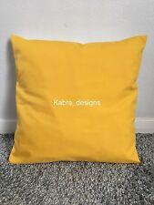 """1 10"""" Plain Pale Orange Cotton Cushion Cover Other Colours Sizes Available"""