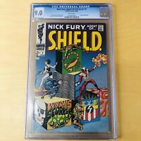 Nick Fury Agent of SHIELD #1 CGC 9.0 1968 Jim Steranko art! Classic Cover