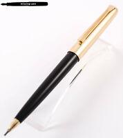 Vintage Pelikan D30 Rolled Gold Pencil (1.18 mm) Black-Gold (1965 - 1970) (2)