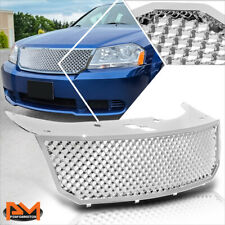 For 08-10 Dodge Avenger Mesh Style Abs Plastic Front Upper Bumper Grille Chrome (Fits: Dodge Avenger)