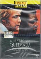 Dvd **QUEIMADA** con Marlon Brando nuovo sigillato 1969