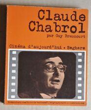 R40620 Claude Chabrol  - Cinema d'aujourd'hui - Segnes 1971