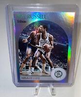 Bill Russell 2020-21 NBA Hoops Tribute Holo Foil SP #267 Boston Celtics HOF