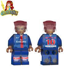 LEGO Custom Football Soccer Neymar Jr in Club Jersey