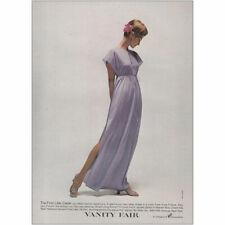 1973 Vanity Fair: First Lilac Caper Vintage Print Ad