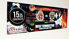 used ticket WISLA Krakow - MSK ZILINA 05.07.2014
