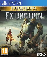 EXTINCTION DELUXE EDITION PS4 GAME