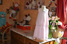 robe neuve repetto rose dance     4 ans  strass noeud