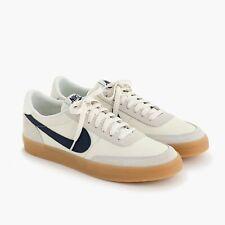 J. Crew Nike Killshot 2 Leather Shoes White Sail Midnight Navy Gum Sz 11.5