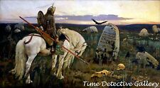 Knight at the Crossroads by Viktor Vasnetov - Giclee Art Print