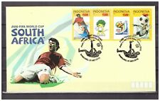 Indonesia 2010 FDC Soccer World Cup South Africa Football