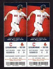 2 May 23, 2016 Red Sox Full Tickets Bradley Hitting Streak to 27 Ortiz HR 514