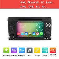 ANDROID 5.1.1 4CORE AUTORADIO NAVIGATORE SAT GPS PER PORSCHE CAYENNE 03-10 WIFI