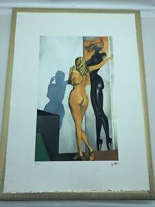 Litografia Renato Guttuso 50 X 70 Con Certificato