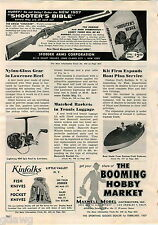 1957 ADVERT Kinfolks Hunting Knife Knives Store Display Lasy Dasy Fishing Lure