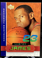 LeBron James 2003-04 UD SUPERSTARS Rookie RC #LBJ1 Limited Insert