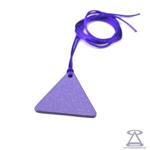 Tesla Purple Plate - Triangle Man SUNNY