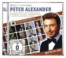 PETER ALEXANDER - MUSIC & VIDEO STARS  CD + DVD  DEUTSCHER SCHLAGER  NEU