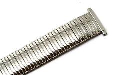 SPEIDEL 16-21MM SILVER TWIST O FLEX STAINLESS STEEL EXPANSION WATCH BAND STRAP