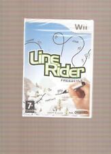 Rare !!! LINE RIDER FREESTYLE : Un Jeu Captivant sur Wii/WiiU  Jeu NEUF Blister