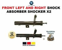 FOR PEUGEOT PARTNER VAN 1996 >ON FRONT LEFT + RIGHT SHOCK ABSORBER SHOCKER X2