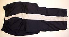 Easton Sweat Athletic Warm Up Pants Blue White Stripe Boys Large