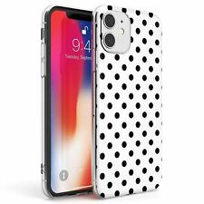 Designer Cool White Polka Dot Slim TPU Case for iPhone Hot Fashion Trend