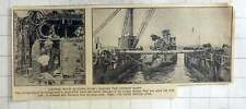1925 Scapa Flow Salvage Work, Raising German Fleet