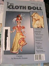 THE CLOTH DOLL Fall/Winter 1996 Vol 12 No 1 cloth art doll patterns~how magazine