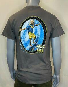 Rietveld - Mens - T-Shirt - Surfin Al - Charcoal - Tee - Surf Clothing