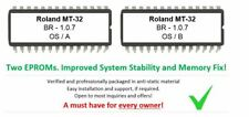 "Roland MT-32 MT32 Version ""Blue Ridge"" enchanced 1.0.7 firmware Memory Fix mod"
