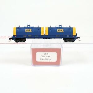 Red Caboose N Scale CSX CSXT Steel Coil Car RN-17713-5