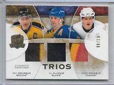 08-09 UD THE CUP TRIOS TRIPLE PATCH #CJ3-BMP BOURQUE MacINNIS PHANEUF 8/10 5CL