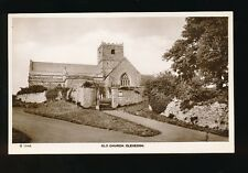 Somerset CLEVEDON Old Church vintage unposted RP PPC