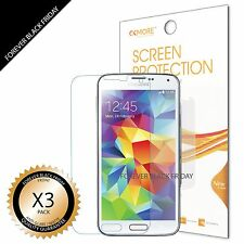 3x Anti-Glare Matte Screen Protector Guard Shield Saver For Samsung Galaxy S5