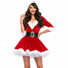 Leg Avenue Women's 2 Piece Mrs. Claus Costume Red/White LA-85356 XL