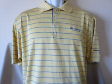 Focal Point Ministries Yellow Polo Shirt Adidas Mission Hospital Size LARGE