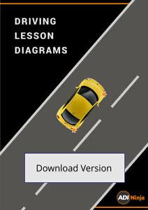 Driving instructor lesson plans diagrams - digital pdf