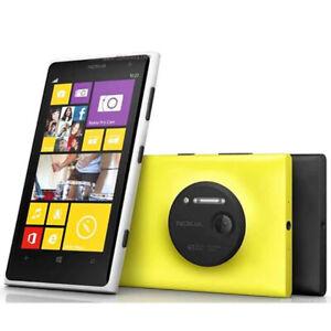 Original Nokia Lumia 1020 4G Wifi NFC 32GB 41MP Dual Core Unlocked Smart Phone